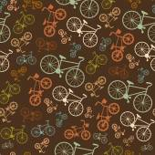 Bicycle hipster background — Stock Vector