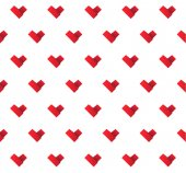 Origami paper hearts background — Stock Vector