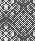 Sem costura padrão geométrico — Vetor de Stock