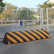 Security barrier and security gates — Stock Photo #58553603
