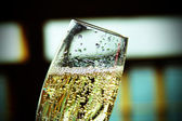 Champagne bubbles — Stock Photo