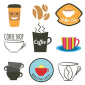 Vector set of badges, — Stock Vector