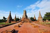 Wat Chai Wattanaram in Ayutthaya , Thailand — Stok fotoğraf
