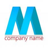 M logo — Stock Vector