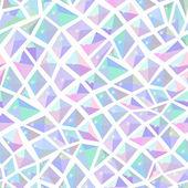 Ice crystal seamless light pattern — Stock Vector