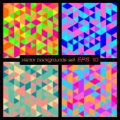 Geometric patterns set. — Stock Vector