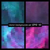 Geometric patterns set. — Stock Vector