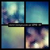Geometriska mönster set. — Stockvektor