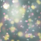 Bokeh light blurry background — Stock Vector