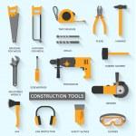 zestaw narzędzi budowlanych — Wektor stockowy  #67716667
