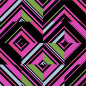 Bright geometric pattern — Stock Vector