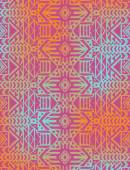 Tribal mexican seamless pattern — Stock Vector