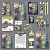 Corporate identity template set — Stockvektor