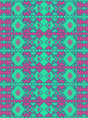 Aztec tribal mexican seamless pattern — Stock Vector
