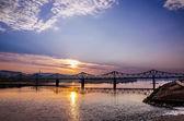 Bridge over Vistula River in Wloclawek — Stock Photo