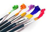 Painting Brushes — Stock Photo