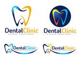 Dental Logo — Stock Vector