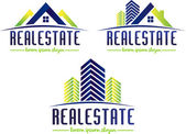 Real Estate Logo — Stock Vector