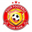 Soccer Team Logo — Stock Photo #61244113