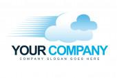 Cloud Logo — Stock Photo