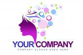 Beauty Logo — Stock Photo
