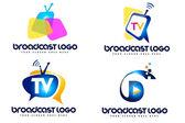 Broadcast Logo — Stok fotoğraf