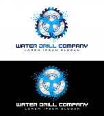 Drilling Logo — Stock Photo