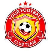 Logotipo de equipo del fútbol — Foto de Stock