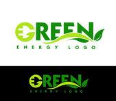 Green Energy Logo — Stock Photo