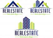 Real Estate Logo — Stock Photo