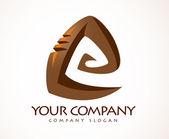 Spiral Logo — Stock Photo