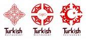 Turkish Restaurant Logo — Stock Photo