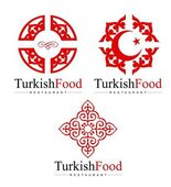 Turkish Logo Design — Stock Vector