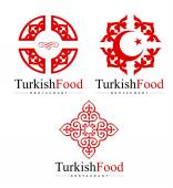 Turkish Logo Design — Vector de stock