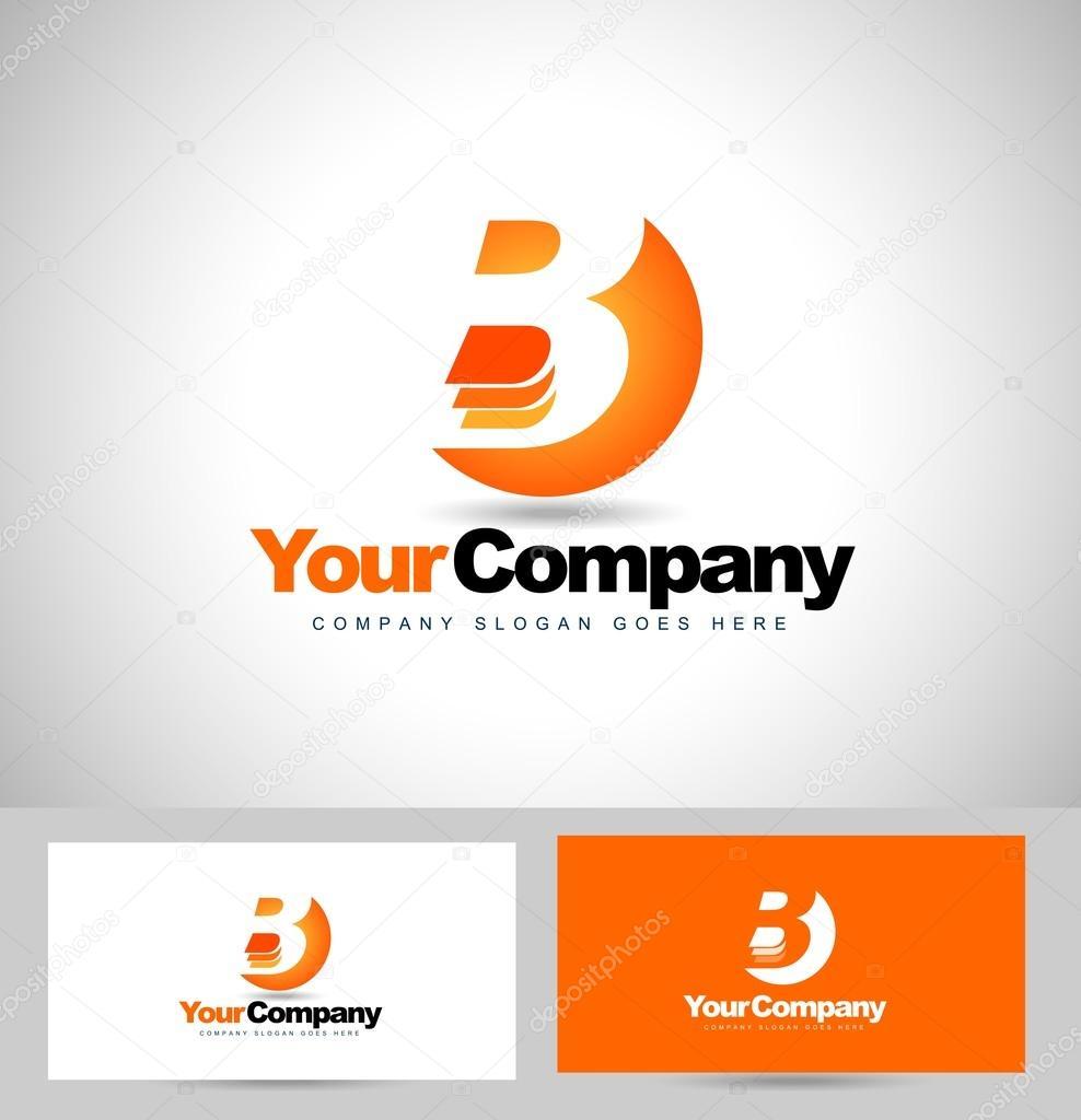 letter b logo design stock vector twindesigner 66981943. Black Bedroom Furniture Sets. Home Design Ideas