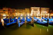 Venice Italy By Night — Stock Photo