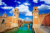 Venice Arsenal- Arsenale di Venezia — Stock Photo