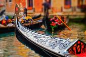 Venice Gondola Closeup — Stock Photo