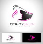Hair Salon Logo — Stock Vector