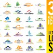 Real Estate Logo Set — Stockvector  #73828269
