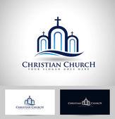 Church Logo — Stock Vector