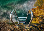 Stairs to the Water — Stock Photo