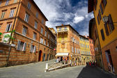 Sienna Italy Street — Stock Photo