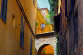 Sienna Italy Street Detail — Stock Photo