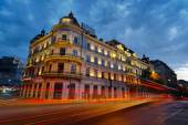 Bucharest at Sunset — Stock Photo