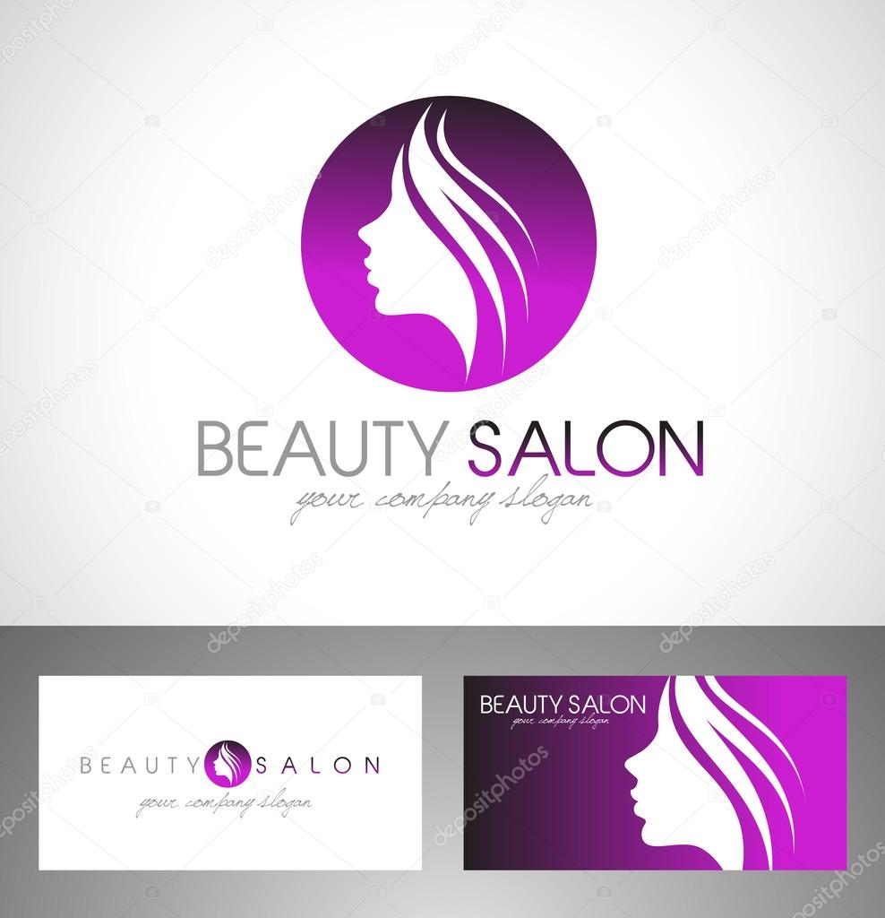 Salon logos ideas joy studio design gallery best design for A trial beauty treatment salon