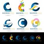 Постер, плакат: Letter C Logo Designs