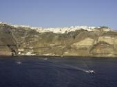サントリーニ島の島 — ストック写真