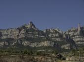 Montserrat w Hiszpanii — Zdjęcie stockowe