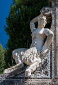 Fauno-statue — Foto Stock